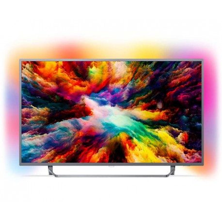 Telewizor LED 55' Philips 55PUS7303 Android TV 4K NA STANIE !! WYSYŁKA 24H!!