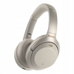 Słuchawki bezprzewodowe Sony WH-1000XM3 srebrne