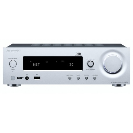 Sieciowy amplituner stereo ONKYO R-N855 Srebrny