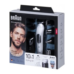 Trymer Braun MGK7020 Multigroom 10w1 +GILLETTE