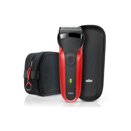 Golarka foliowa BRAUN Series 3 300TS Red +ETUI