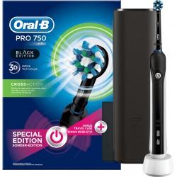 Szczoteczka elektryczna Oral-B Pro 750 Black