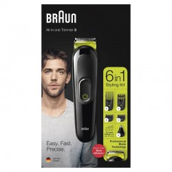 Maszynka Trymer do brody włosów BRAUN MGK3221 6w1