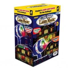 Oświetlenie laserowe Projektor Świąteczny