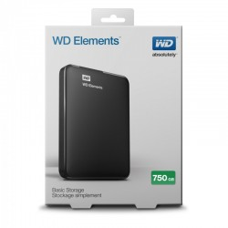 DYSK WD ELEMENTS 750 GB WDBUZG7500ABK BLACK HIT ! 24H! NA STANIE !!