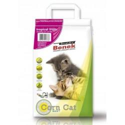Żwirek Super Benek Corn Cat Owoce Tropikalne 14L